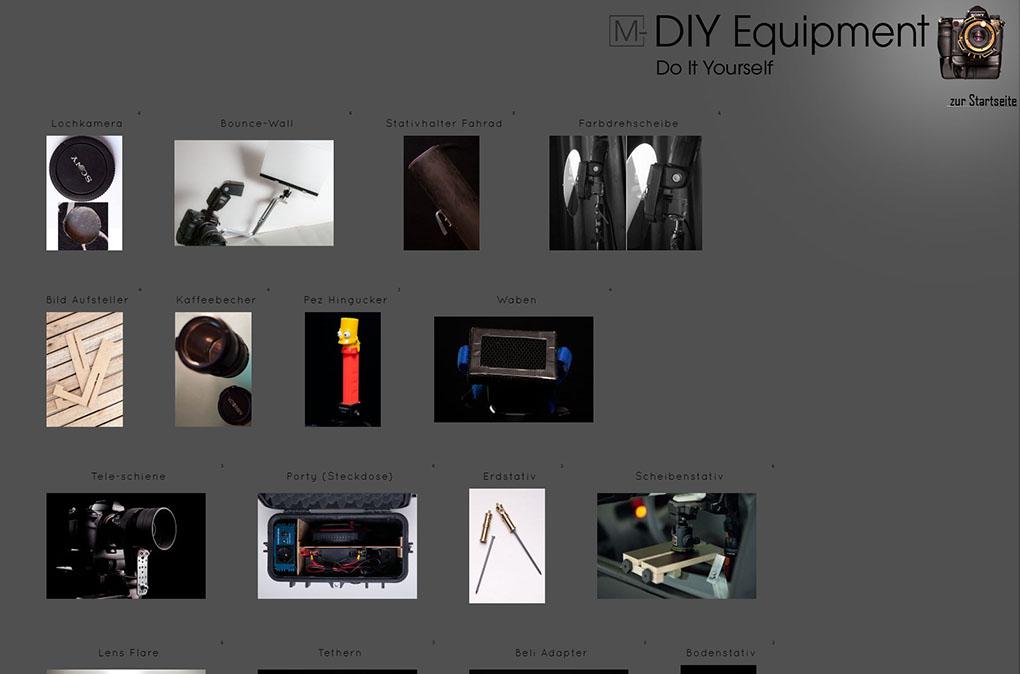Diy Equipment Galerie