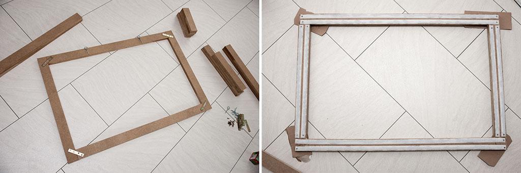 Aluberbund-Rahmen